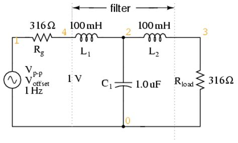 low pass filter load impedance 8 6 resonant filters