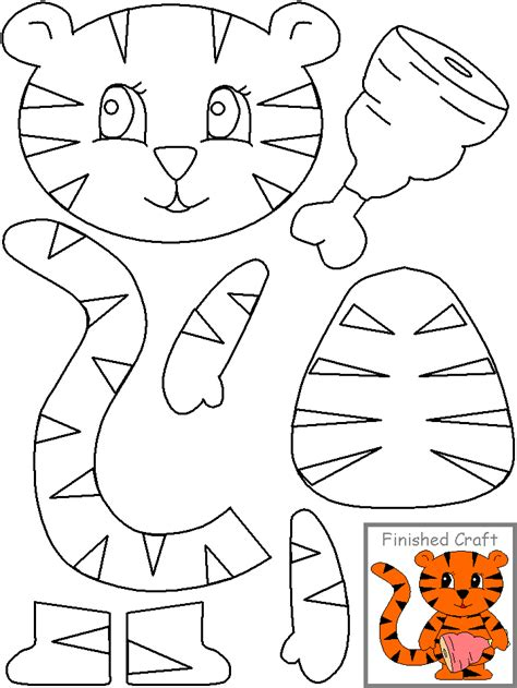 printable animal crafts crafts actvities and worksheets for preschool toddler and