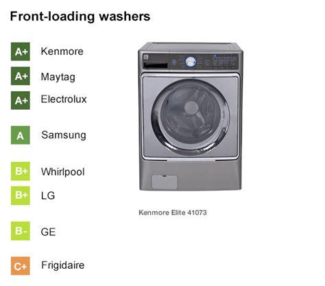 best laundry machines best washing machine brands consumer reports