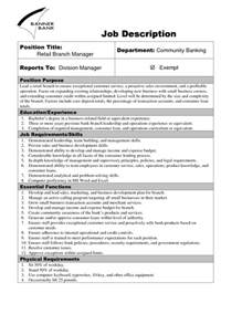 Position Description Template 9 description templates word excel pdf formats