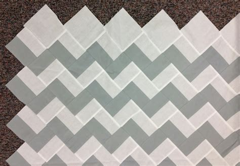 Chevron Quilt Pattern Using Jelly Roll by City Modern Quilters Guild September 2013