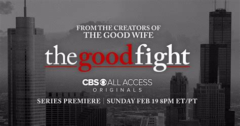 good fight cbs announces the good fight premiere date and other