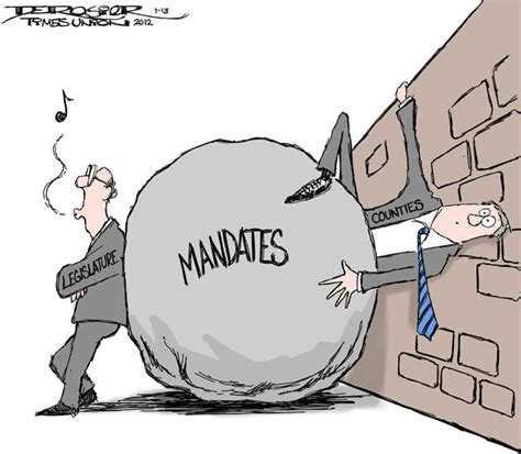 101 unfunded mandates and counting rock and a place de rosier s view