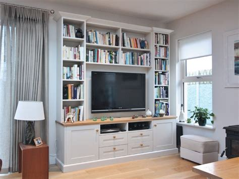 Houzz Living Room Tv Units Alcove Tv Units Traditional Living Room Other By