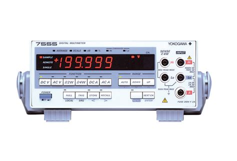 Multimeter Yokogawa digital multimeter 7555 digital multimeters other test