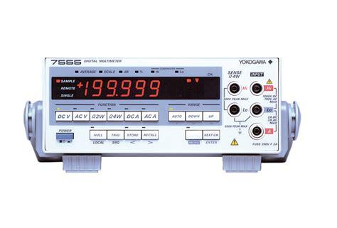 Digital Multimeter 7555 Discontinued Yokogawa Test