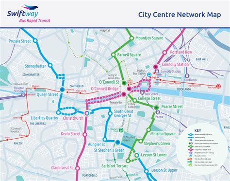 map city centre swiftway map rapid transit swiftway routes