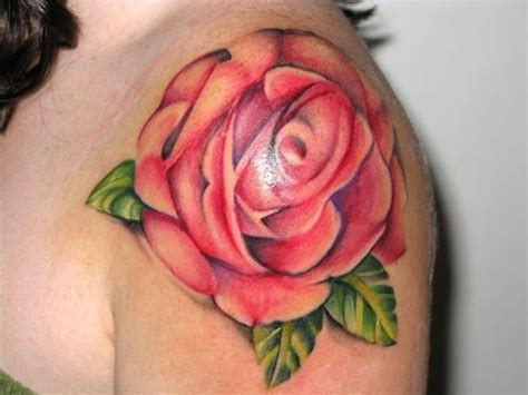 bleeding rose tattoo calgary watercolor picture at checkoutmyink
