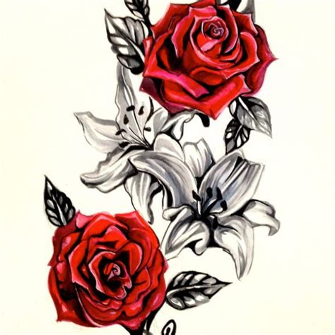rose tattoo tattoo collection page 183