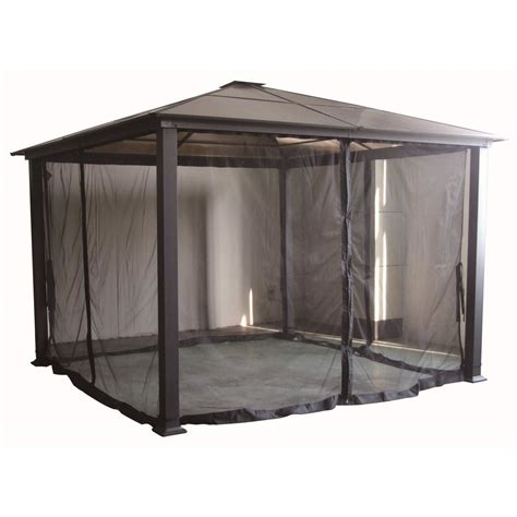 Gazebo With Privacy Curtains Allen Roth Gazebo Replacement Curtains House Decorations And Furniture Allen Roth Gazebo Ideas
