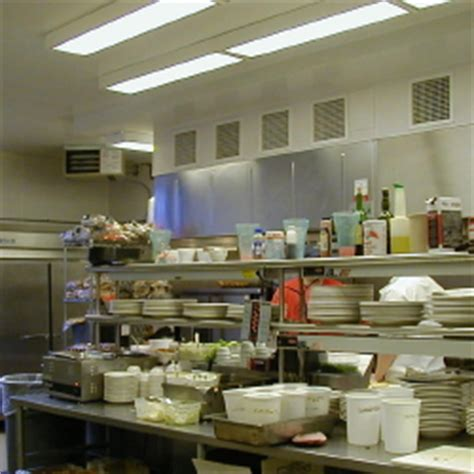 Kitchen Lighting Requirements Chicagowater Grill In Jonesville Michigan Restaurant Lighting Design By Beffel Lighting Of