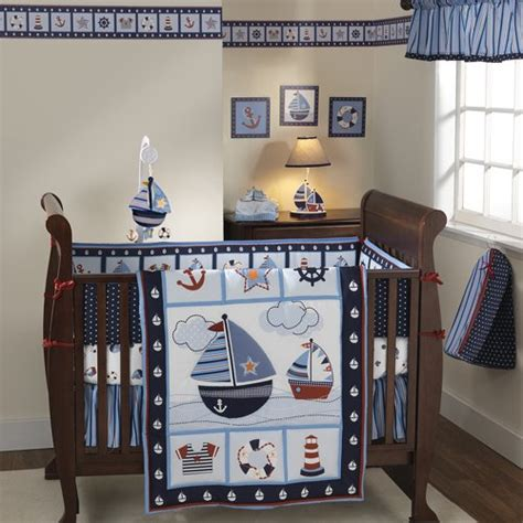 Boy Nursery Bedding Sets Nautical Nursery Ideas Crib Bedding For Boys Bedtime Baby