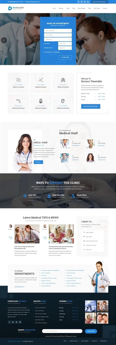 bootstrap templates for hospital the 25 best hospital website ideas on pinterest medical