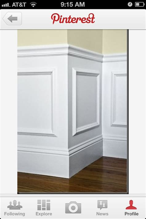 Glue Wainscoting To Wall by Easy Wainscotting Idea Buy Frames Glue To Wall And Paint