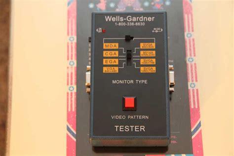 test pattern generator arcade fs parts brand new original wells gardner video arcade