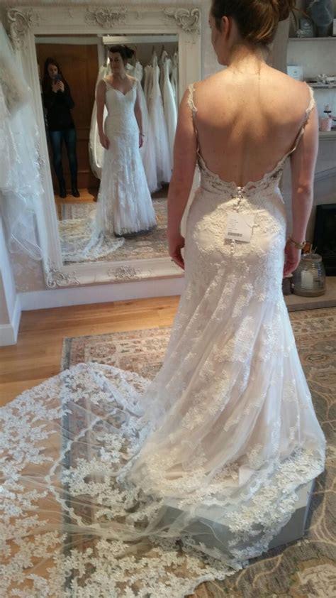 stella york brand  unaltered wedding dress sell