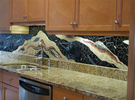 Kitchen With Mosaic Backsplash by Kitchen Remodel Designs Mosaic Backsplash For Kitchens