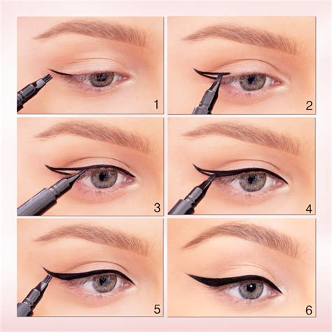 eyeliner tutorial beginners 5 easy eyeliner styles for beginners with steps stylo planet