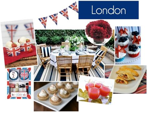 london themed events london party board summer 2012 london british party