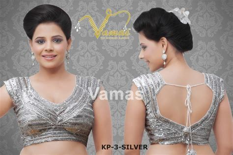 Villa Blouse Silver Zv gorgeous crochet blouse silver kp 3s muhenera presents vama blouse collection shopping