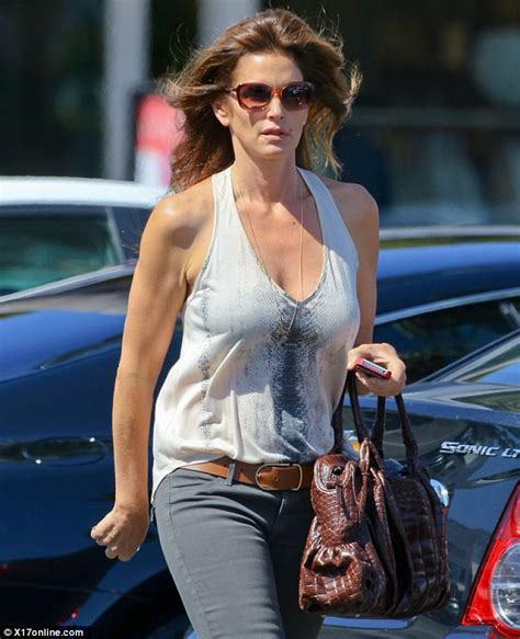 Baby Elephant Halloween Costume Cindy Crawford Shows Toned Arms 48 Skimpy