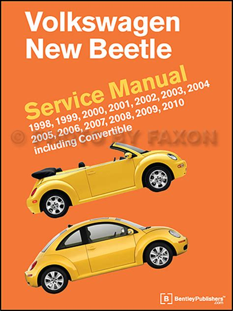 free car manuals to download 2010 volkswagen new beetle engine control 1998 2010 volkswagen new beetle repair manual