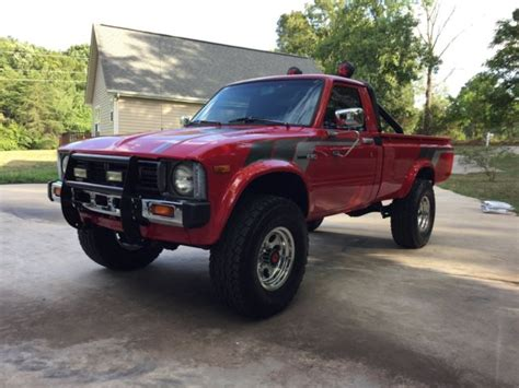1981 Toyota 4x4 1981 Toyota Hilux Sr5 4x4 22r 5 Speed Cold A C