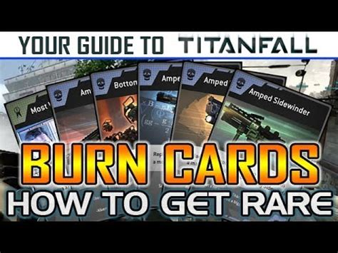 titanfall burn card template titanfall burn cards guide how to get stryder ogre