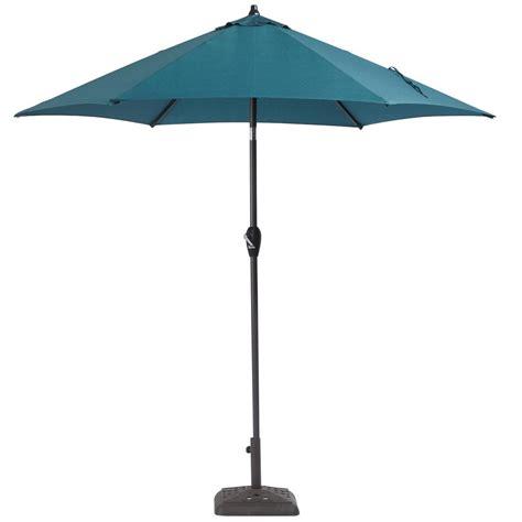 Hton Bay 9 Ft Aluminum Patio Umbrella In Charleston Hton Bay 9 Ft Aluminum Patio Umbrella In Sky Blue With