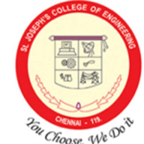 St Joseph College Chennai Mba Fee Structure by St Joseph S College Of Engineering Sjcoe Chennai