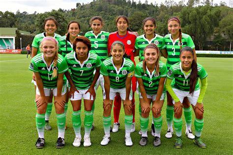 tuzas ceonas de la liga nacional juvenil femenil tri femenil buscan revancha ante en mundial