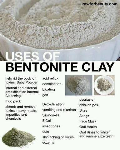 How Do You Use Bentonite Clay For Detox by 17 Best Images About Diy On