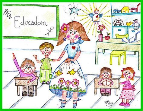 carta para una educadora inicial dibujo de educadora imagui