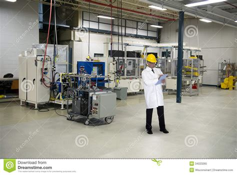 Manufacturing Technician Description by Quality Engineer Industrial Factory Royalty Free Stock Photo Image 34023265
