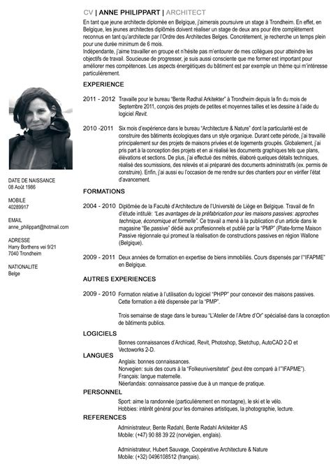 Examples Of Professional Resumes by Francais Curriculum Vitae Template Resume Builder