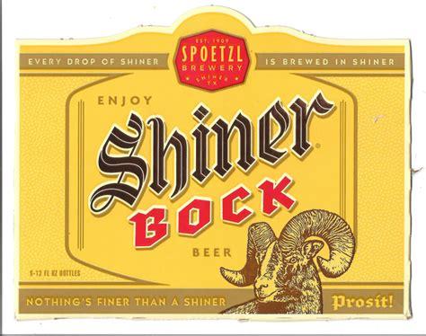 shiner light blonde alcohol content shiner bock logo 12 000 vector logos