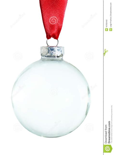 empty christmas ornament stock photography image 16782442