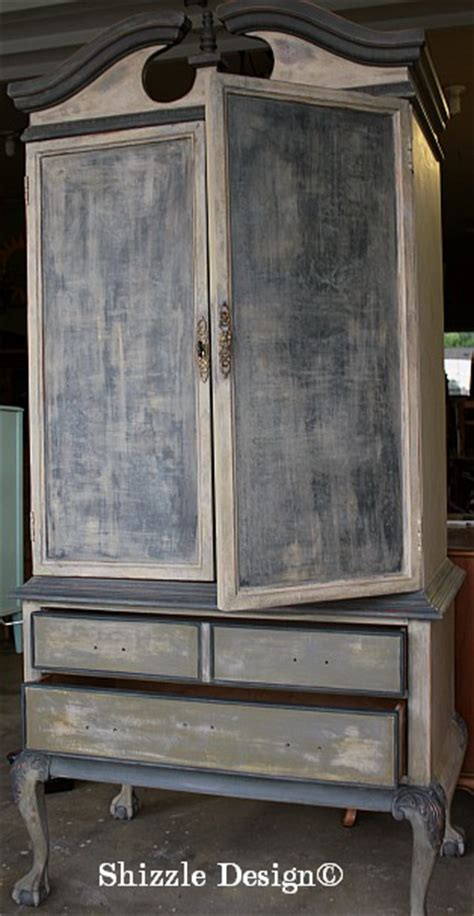 painted armoire ideas painted furniture adding texture with paint american