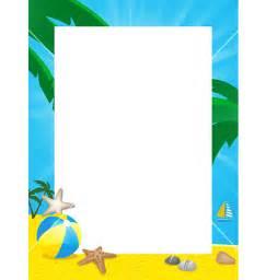 borders bathroom: summer border vector by elaineitalia image  vectorstock
