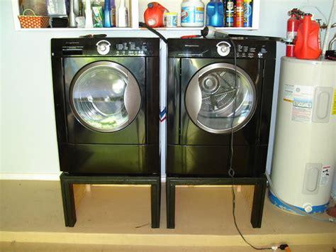 Washer And Dryer Pedestal Alternatives Washing Machine And Dryer Pedestal Stand A Diy Happiness