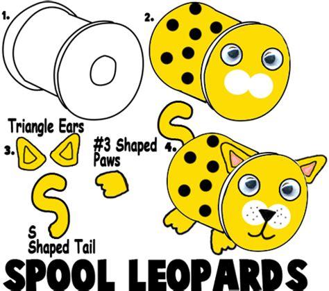 leopard crafts  kids ideas   leopards  easy