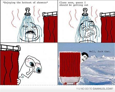 Meme Shower - cold funny meme shower image 300033 on favim com