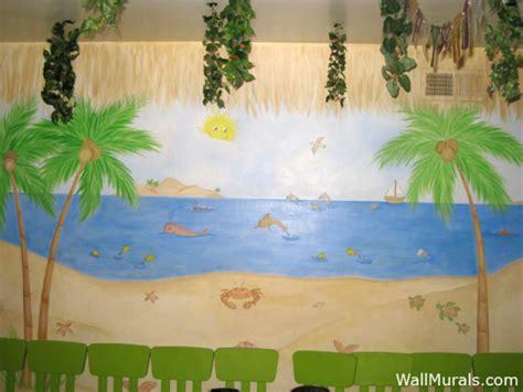 preschool wall murals wall murals themed murals undersea animals