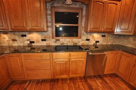 Pictures Of Kitchen Countertops And Backsplashes by Granite Countertops And Tile Backsplash Ideas Eclectic