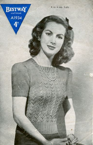 vintage knitting pattern lady fabulous forties fashions lady s vintage knitting patterns