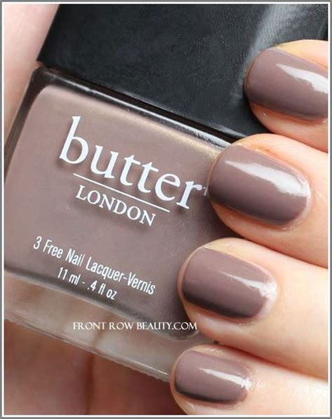 butter london nail polish colors my favorite fall color putty meets mushroom butter