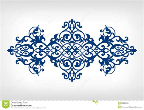 vintage ornament vector pattern vector vintage ornament calligraphy frame pattern stock