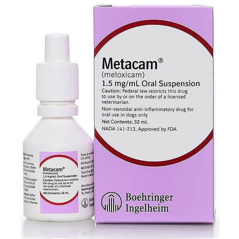 metacam for dogs metacam 1 5 mg ml for dogs 32ml