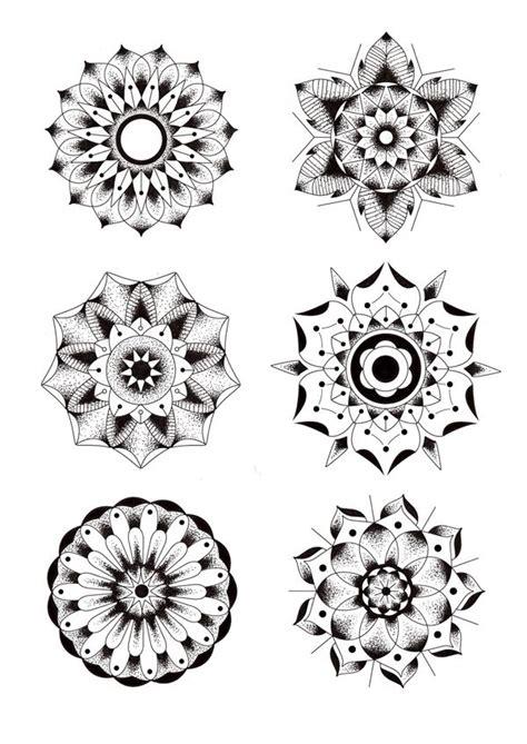 mandala tattoo designs tumblr geometric flowers by gordon via behance random