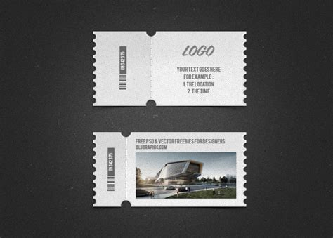 ticket templates for photoshop 2 psd cute tickets photoshop